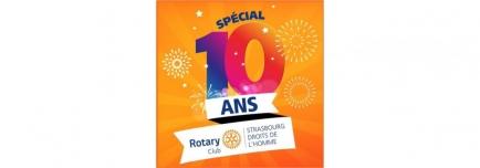 RC Strasbourg Droits de l'Homme - 10 ans